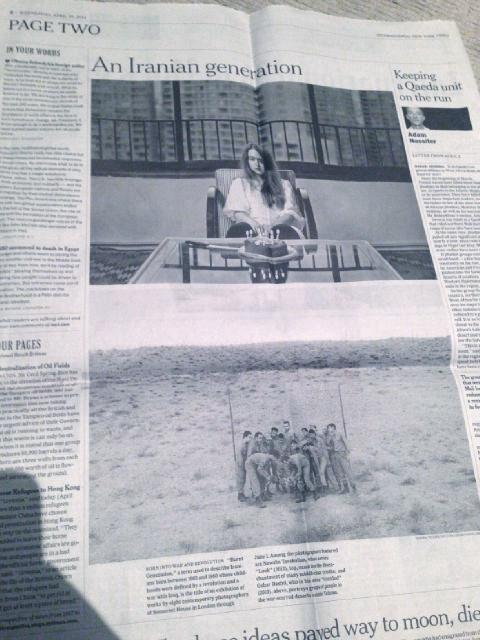 New York Times - Burnt Generation